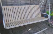 Gewusst wie: einen Garten-Sitzplatz mit IKEA Lattenrost renovieren