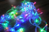 Arduino gesteuert blinken Weihnachten Lichterkette mit Jingle Bells