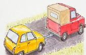 Wie man ein Auto mit einem LKW Abschleppen