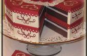 Papier-Kuchen - Gunst-Boxen (video-Tutorial enthalten)