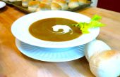 Curry-Süßkartoffel Suppe