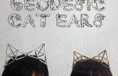 Geodätische Katze Ohren Schmuck Zubehör