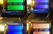 Arduino TFT Farbe Uhr