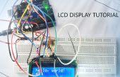 Verwendung von LCD-Display mit Arduino Tutorial
