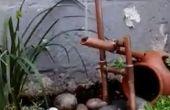 Kupfer-Rohr japanische Shishi-Odoshi Brunnen