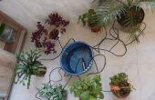 Micro-Bewässerungs-System für Zimmerpflanzen
