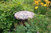 Erstellen Sie eine exzentrische Mosaik Garten Ornament