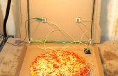 Detektorempfänger to Go: eine tragbare, batterielose Crystal-Empfänger in einer Pizza-Schachtel