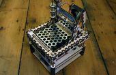 Die MicroSlice V1 | Eine winzige Arduino-Laser-Cutter