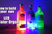 Wie Sie Ihre eigene LED-Farbe-Orgel zu bauen || Arduino || MSGEQ7