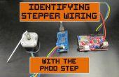 Stepper-Verkabelung mit Pmod Schritt zu identifizieren