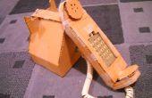Wie erstelle ich ein Karton Telefon