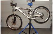 DIY-tragbare Fahrrad Montageständer
