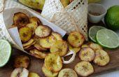 Knusprig gebackene Plantain Chips - 3 leckeren Geschmacksrichtungen