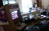 Pappe spielbare Donkey Kong Arcade Machine