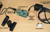 Home e-Mail-Alarmsystem zur Gefahrenabwehr mit Raspberry Pi