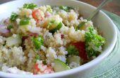 Traditionelle Tabouleh vegane Salat aus dem Nahen Osten