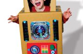 Makedo-Roboter-Kostüm