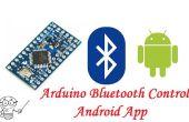 Arduino pro Mini HC-06 Bluetooth und Android App
