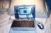 Netbook Laptop Build für $ 160 - Raspberry Pi mit Strom versorgt.