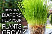Hilfe, die Ihre Pflanzen wachsen Windeln!