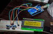 Arduino Ultraschall-Entfernungsmesser, mit I²C LCD-Display!