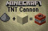 Wie erstelle ich einen Minecraft TNT-Kanone