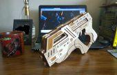 Laser schneiden M-6 Carnifex Gummiband Gun aus Mass Effect