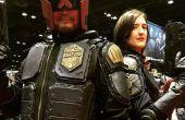 Wie erstelle ich ein Judge Dredd Kostüm