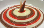 Nudeln: Schokolade und Erdbeere
