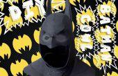Batman-Motorhaube aus Moosgummi