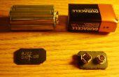 9 Volt Batterie-Clips und kleinen Gehäusen frei