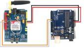 SIM900 GSM-GPRS Schild CON ARDUINO UNO