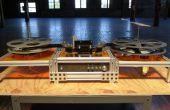 Kinograph v0. 1 DIY Film Scanner/Telecine - Maschinenmontage