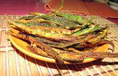 Deep Fried knusprig würzigen Okra