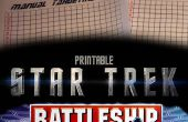 Star Trek Tactical Combat Spiel Battleship (Paper based)