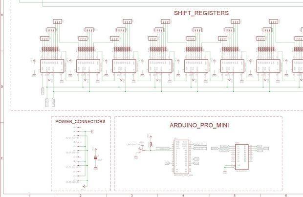Arduino-Kronleuchter aus Gläser / Schritt 4: Schaltplan und ...