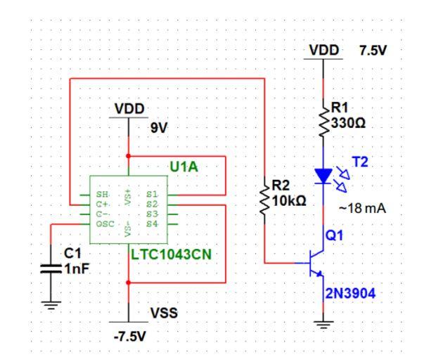 Arduino Stress Detektor / Schritt 2: PPG Schaltung - genstr.com