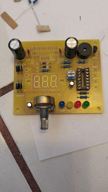 Transistor löten