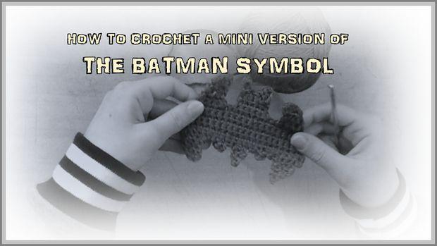 Gewusst Wie Eine Mini Version Des Symbols Batman Häkeln Genstrcom