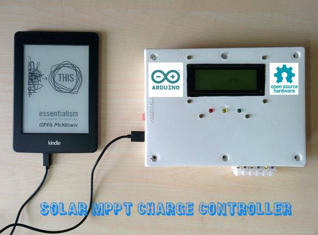 ARDUINO MPPT SOLAR CHARGE CONTROLLER (Version-3.0) - genstr.com