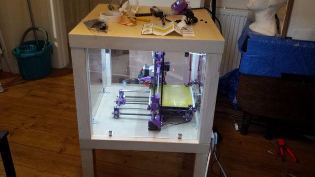 Erworben Haben Vor Kurzem Einen 3D Drucker, Bemerkte Ich Schnell, Dass  Trotz Kalibrierungen, Gab Es Ein Paar Temperatur Probleme.