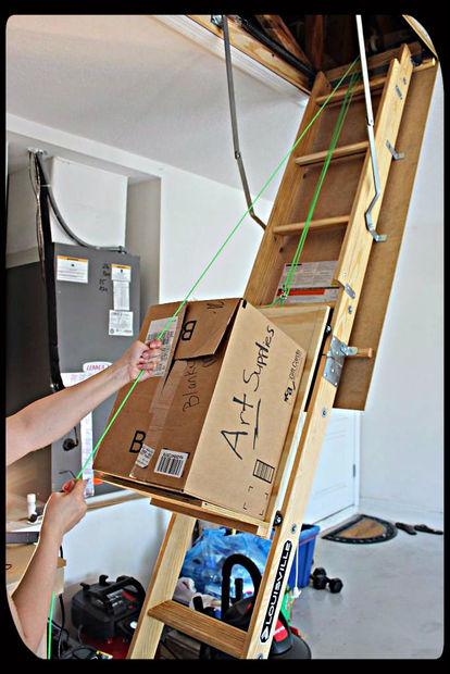 Diy Dachboden Lagerung Hilfe Genstr Com