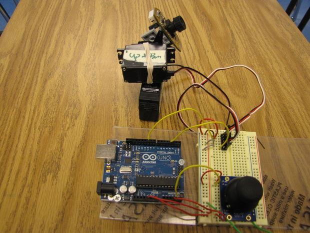 Arduino servos analogstick joystick genstr