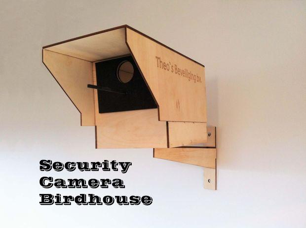 sicherheit kamera vogelhaus. Black Bedroom Furniture Sets. Home Design Ideas