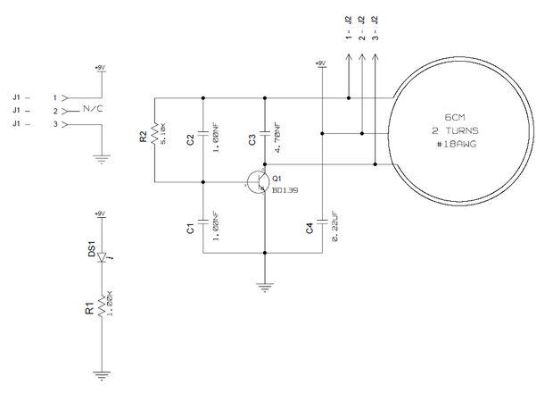 Wireless Power Sender und Empfänger / Schritt 1: Sender Schaltplan ...