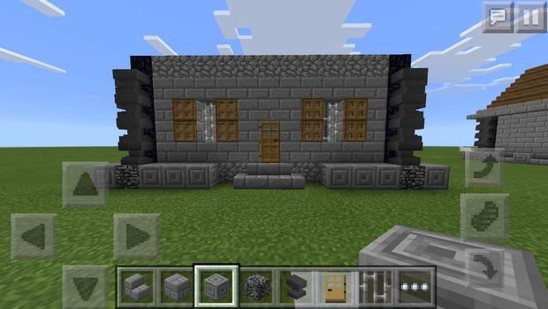 Minecraft PE Mittelalterliche Haus Schritt Weitere Details - Minecraft hauser kopieren