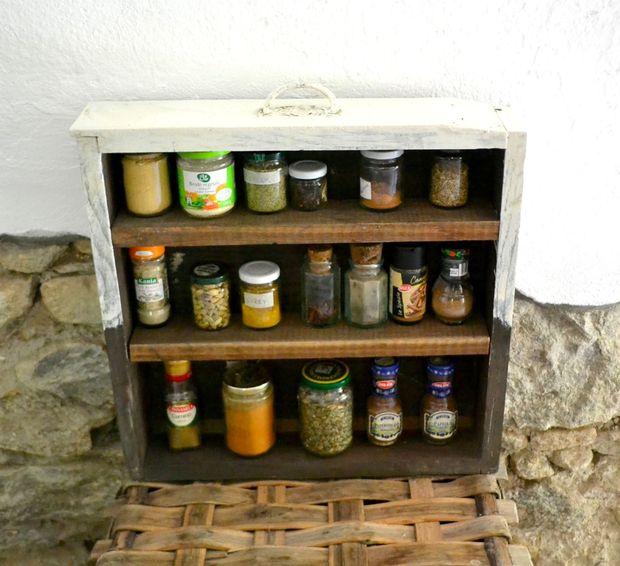Old Schublade Spice Rack Genstrcom