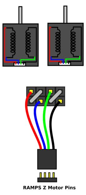 Verdrahtung Ihren Z-Stepper-Motoren in Serie - genstr.com