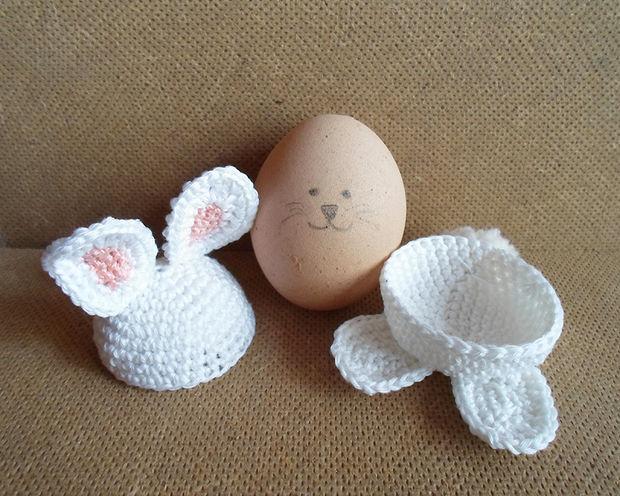 Niedliche Häkeln Ei Halter Schritt 11 Kleid Ihre Eier Genstrcom